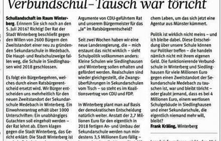 Erinnern Sie sich noch an den 5. Juli 2016? Richtig! Der Rat der Stadt Winterberg beschließt gegen den Willen ...